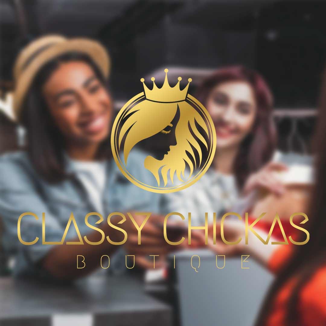 Classy Chickas | DesignMyLogo