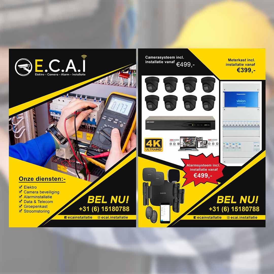 ECAI Flyer | DesignMyLogo