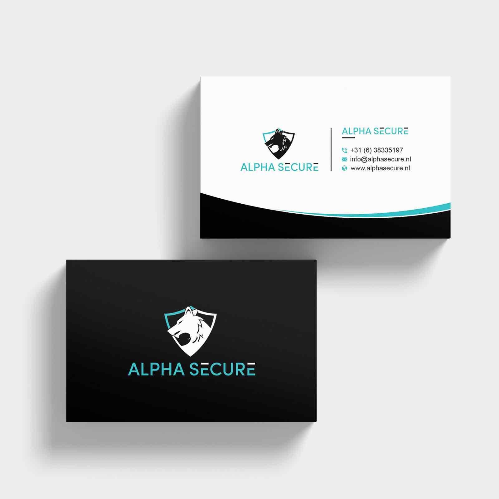 Alpha Secure | DesignMyLogo