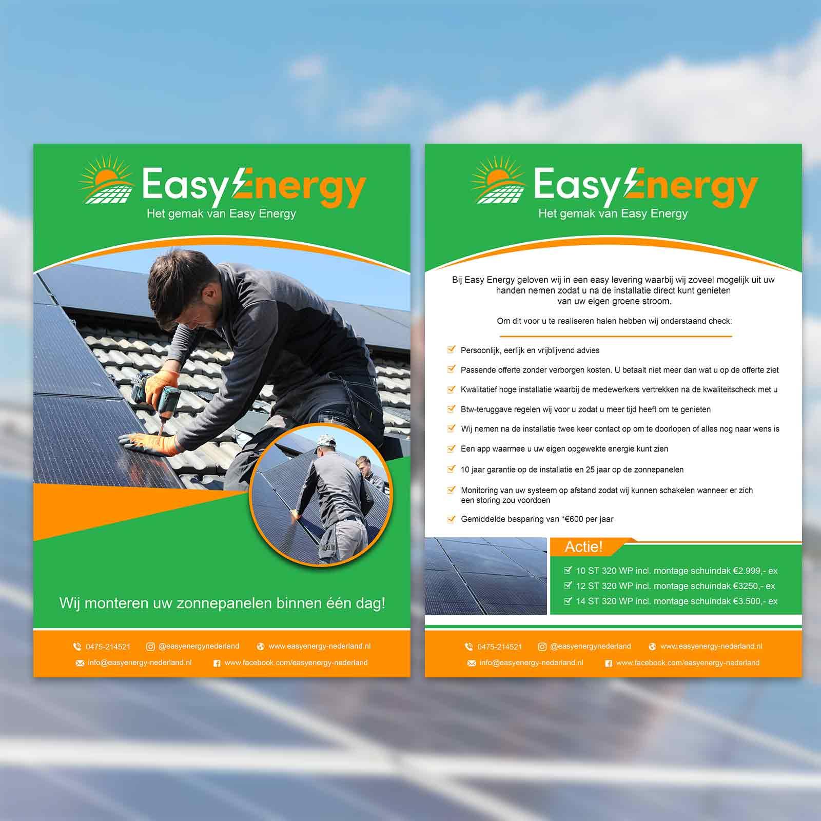 EasyEnergy Flyer | DesignMyLogo