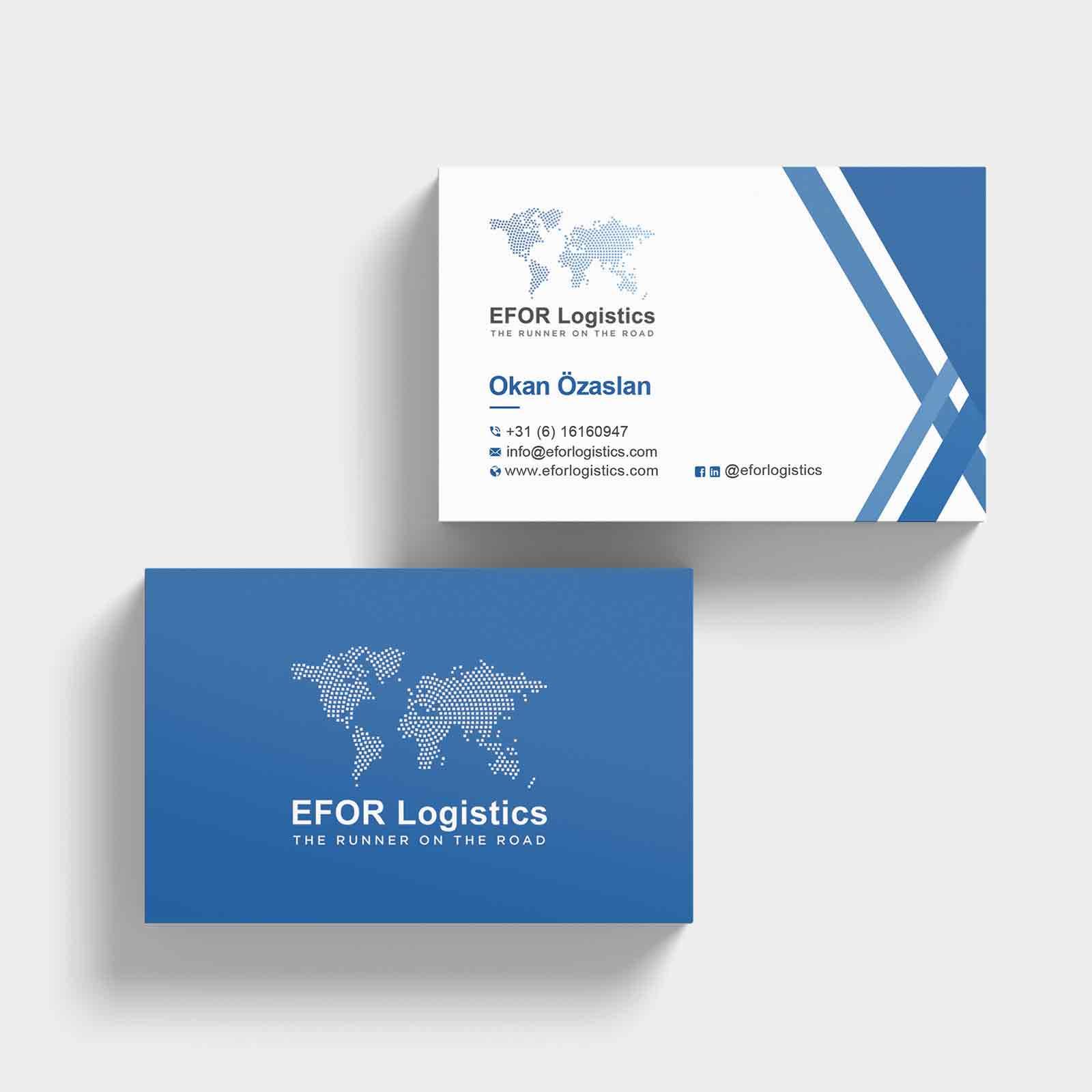 EFOR Logistics | DesignMyLogo