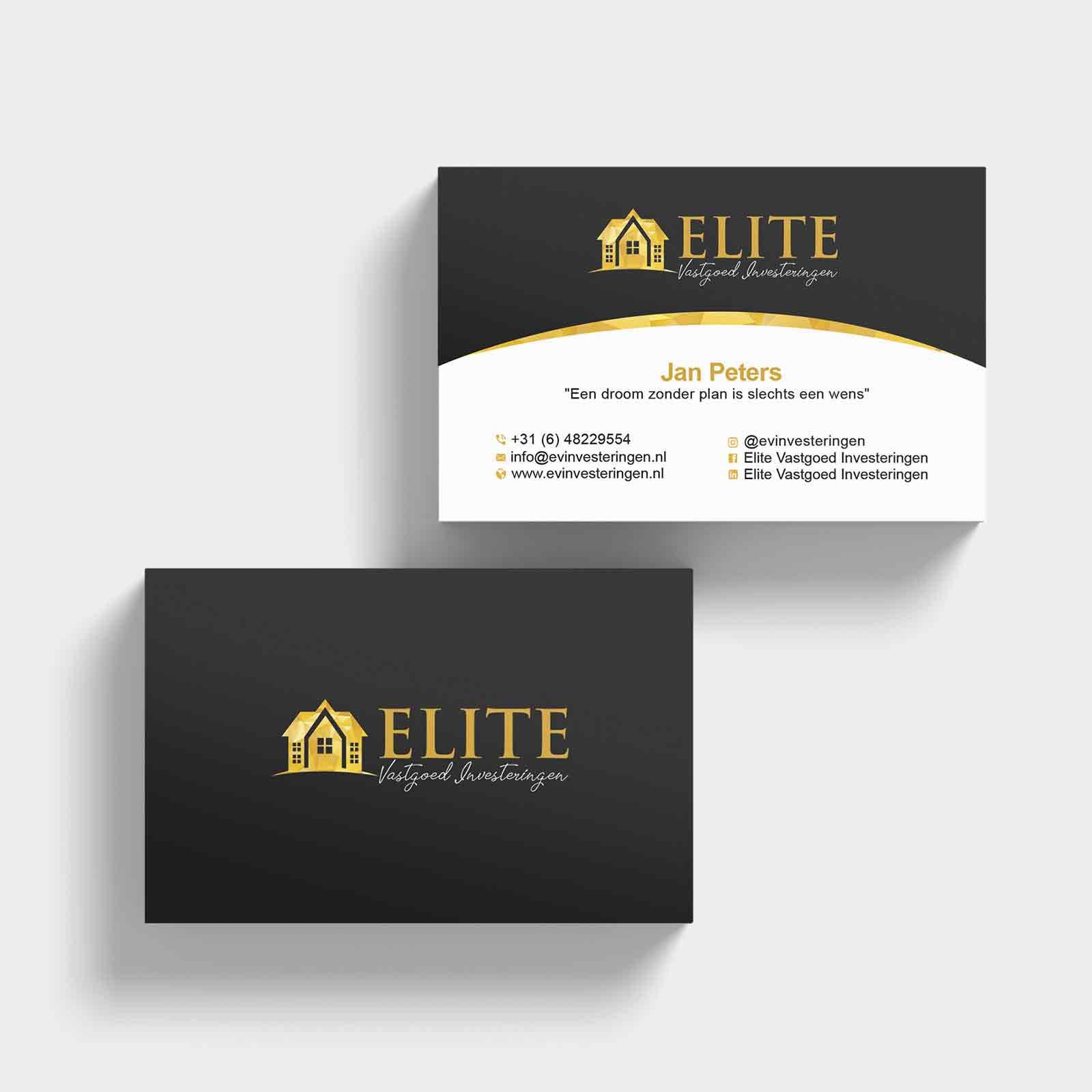 Elite vastgoedinvesteringen | DesignMyLogo