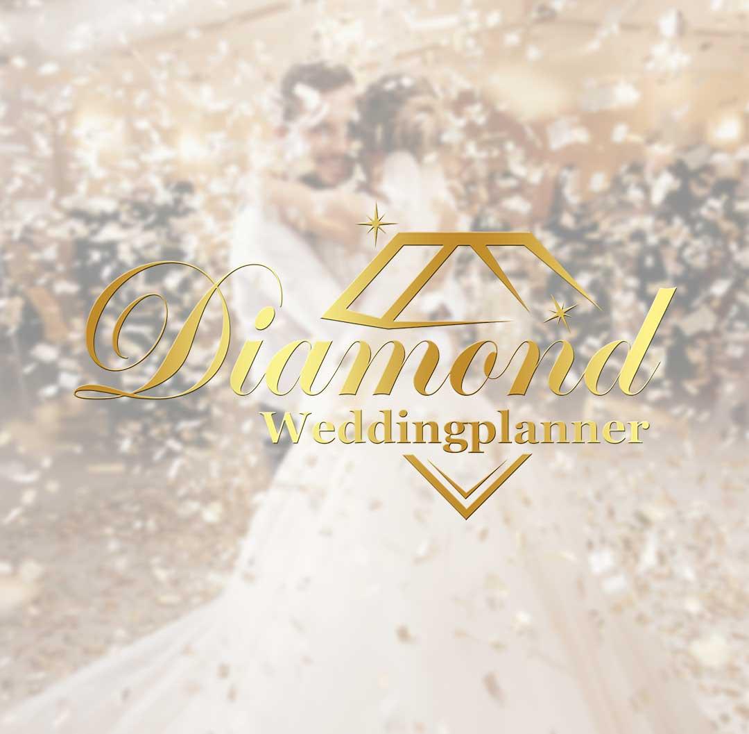 Diamond Weddingplanner | DesignMyLogo